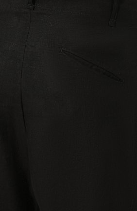Льняные джоггеры | Фото №5