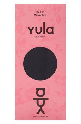 Детские колготки 50 den YULA темно-серого цвета, арт. YU-268 | Фото 1