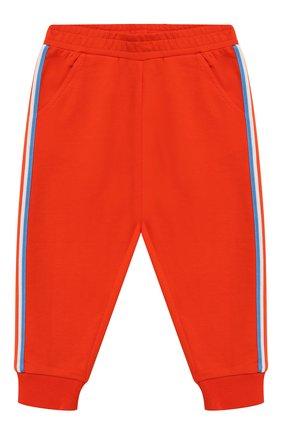 Детский комплект из хлопкового кардигана и брюк MONCLER ENFANT оранжевого цвета, арт. E1-951-88126-05-809AC | Фото 3