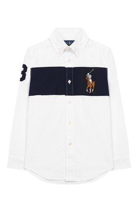 Рубашка с воротником button down | Фото №1