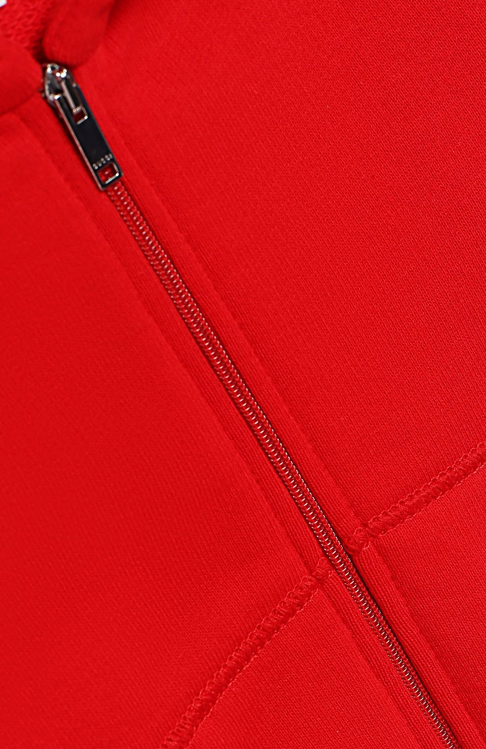 Детский хлопковый комбинезон GUCCI красного цвета, арт. 516315/X9L52   Фото 3