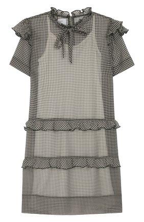 Детское мини-платье PAADE MODE темно-зеленого цвета, арт. 92055/10Y-16Y | Фото 1