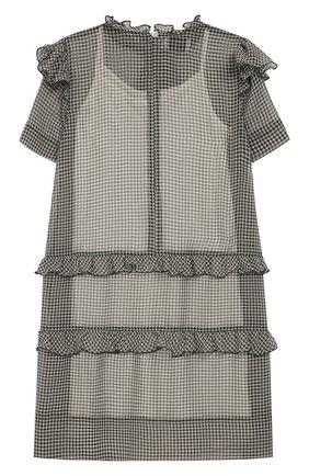 Детское мини-платье PAADE MODE темно-зеленого цвета, арт. 92055/10Y-16Y | Фото 2