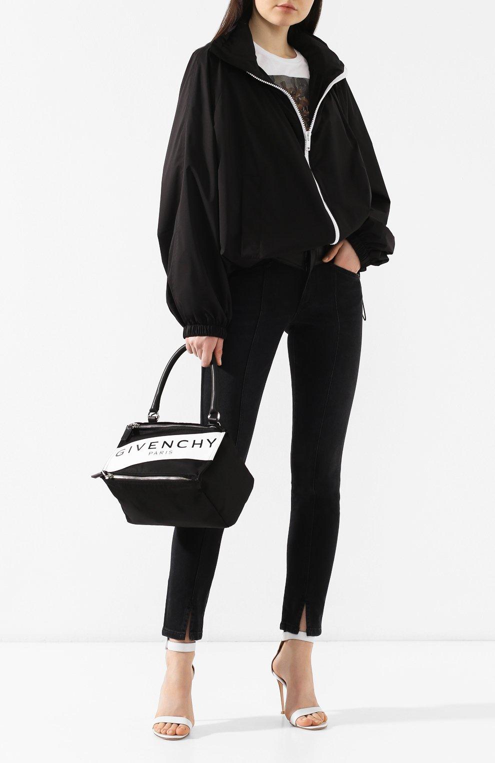 Сумка Pandora small Givenchy черная цвета | Фото №2