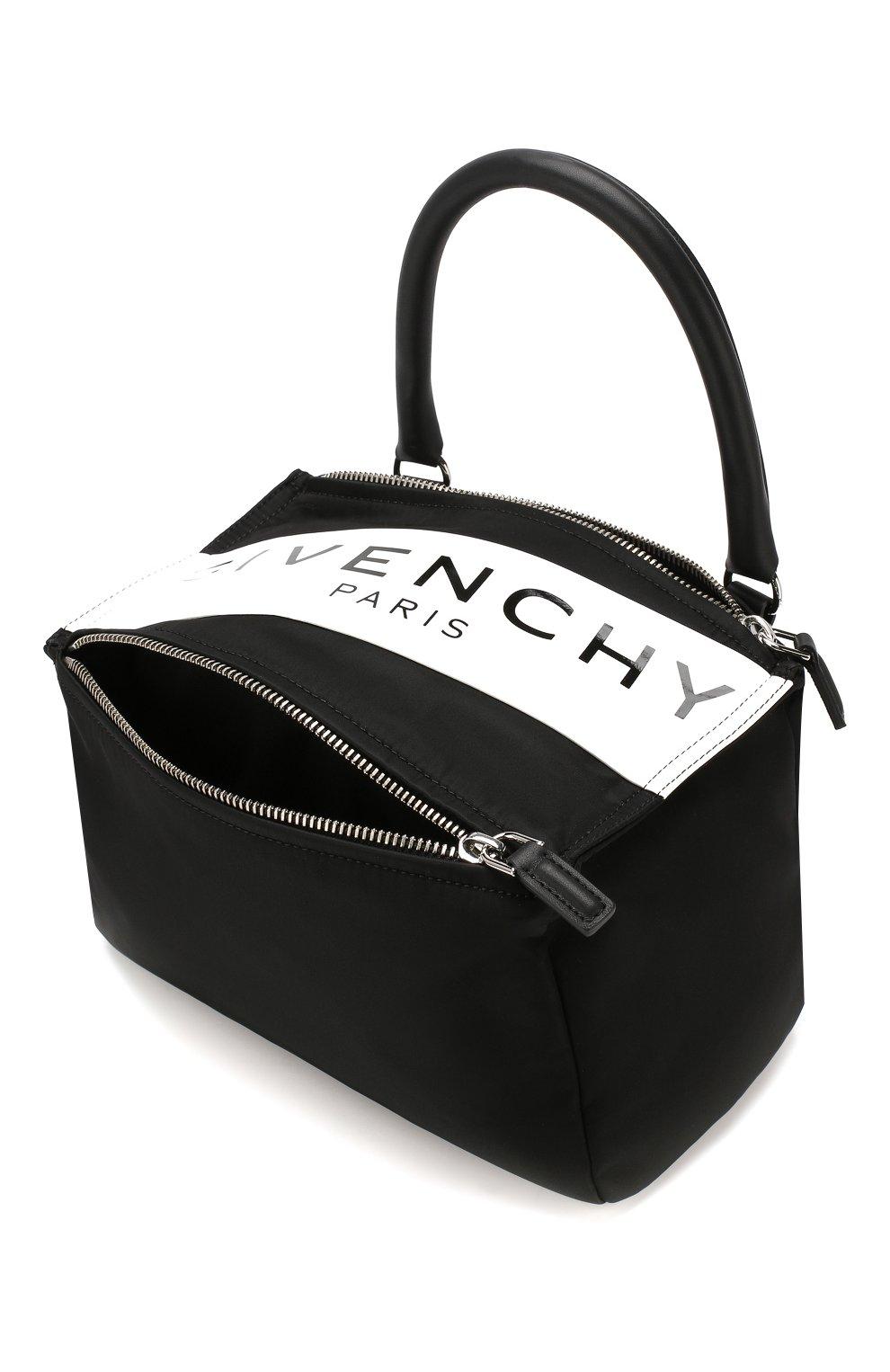 Сумка Pandora small Givenchy черная цвета | Фото №4