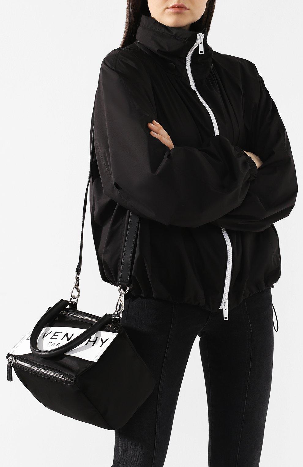 Сумка Pandora small Givenchy черная цвета | Фото №5