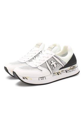 Комбинированные кроссовки Liz  | Фото №1