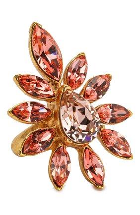 Кольцо с отделкой кристаллами   | Фото №1