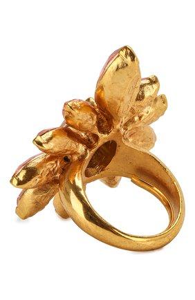 Кольцо с отделкой кристаллами   | Фото №2