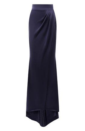 Шелковая юбка-макси   Фото №1