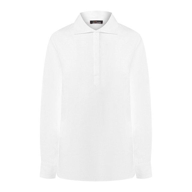 Льняная блузка Kiton