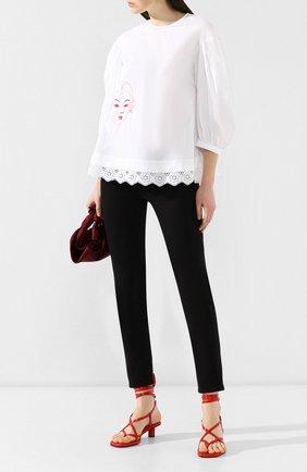 Женские джинсы CASASOLA черного цвета, арт. DNMBC5A | Фото 2