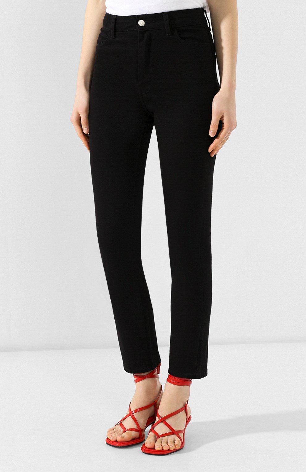 Женские джинсы CASASOLA черного цвета, арт. DNMBC5A | Фото 3