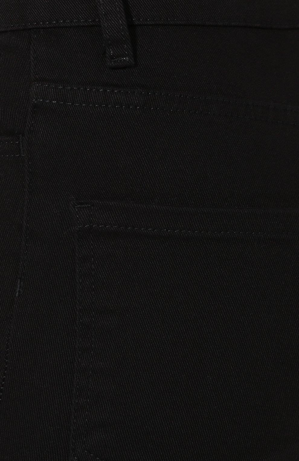 Женские джинсы CASASOLA черного цвета, арт. DNMBC5A | Фото 5
