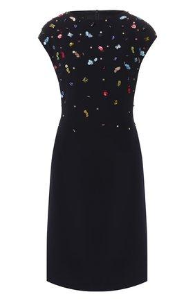 Платье с декоративной отделкой   Фото №1