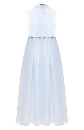 Платье из смеси хлопка и шелка | Фото №1