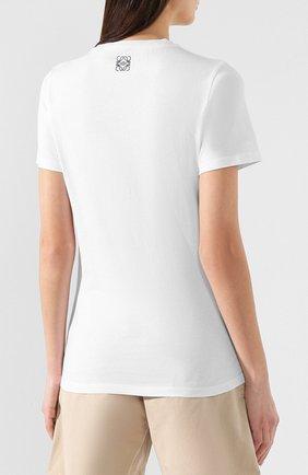 Хлопковая футболка | Фото №4
