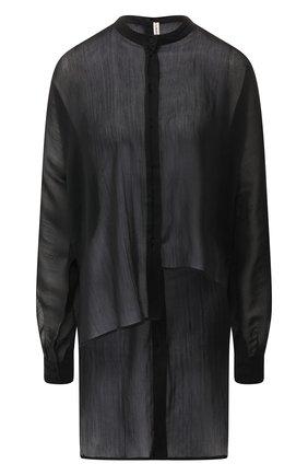 Блузка из смеси хлопка и шелка   Фото №1