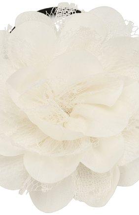 Детская комплект из двух резинок lace flower JUNEFEE бежевого цвета, арт. 5122 | Фото 2