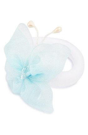 Детская комплект из двух резинок butterfly JUNEFEE голубого цвета, арт. 5904   Фото 2