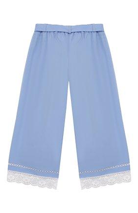 Укороченные брюки из хлопка | Фото №2