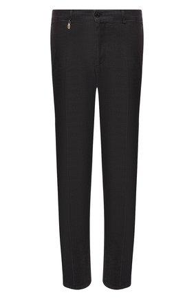 Мужской хлопковые брюки BILLIONAIRE черного цвета, арт. B19C MRT0484 BTE004N | Фото 1