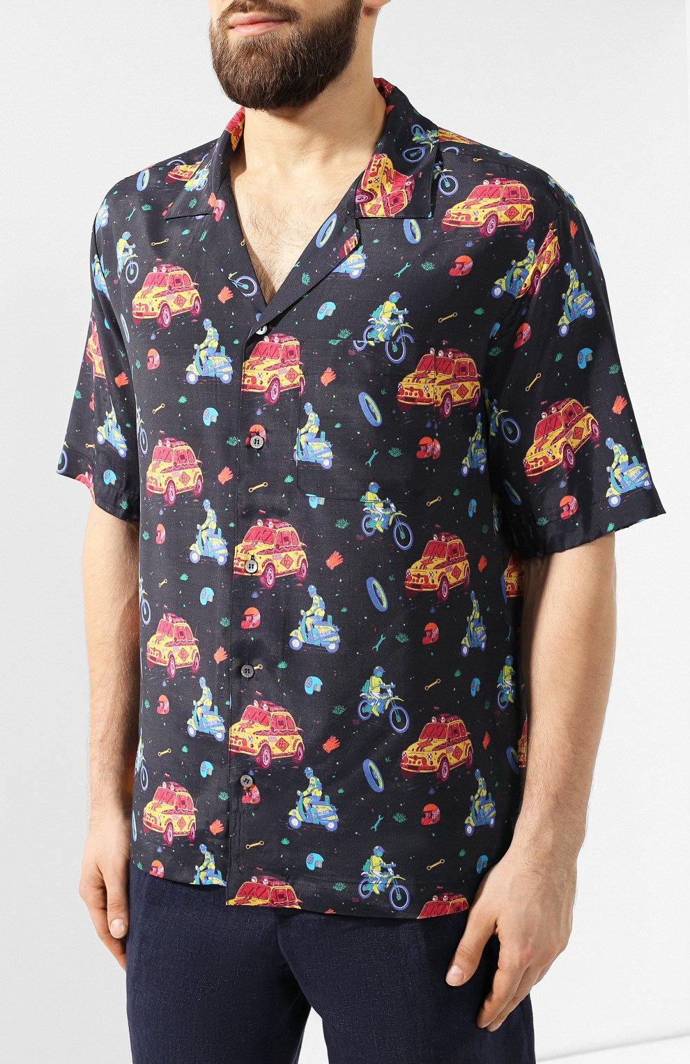 Рубашка из вискозы | Фото №3