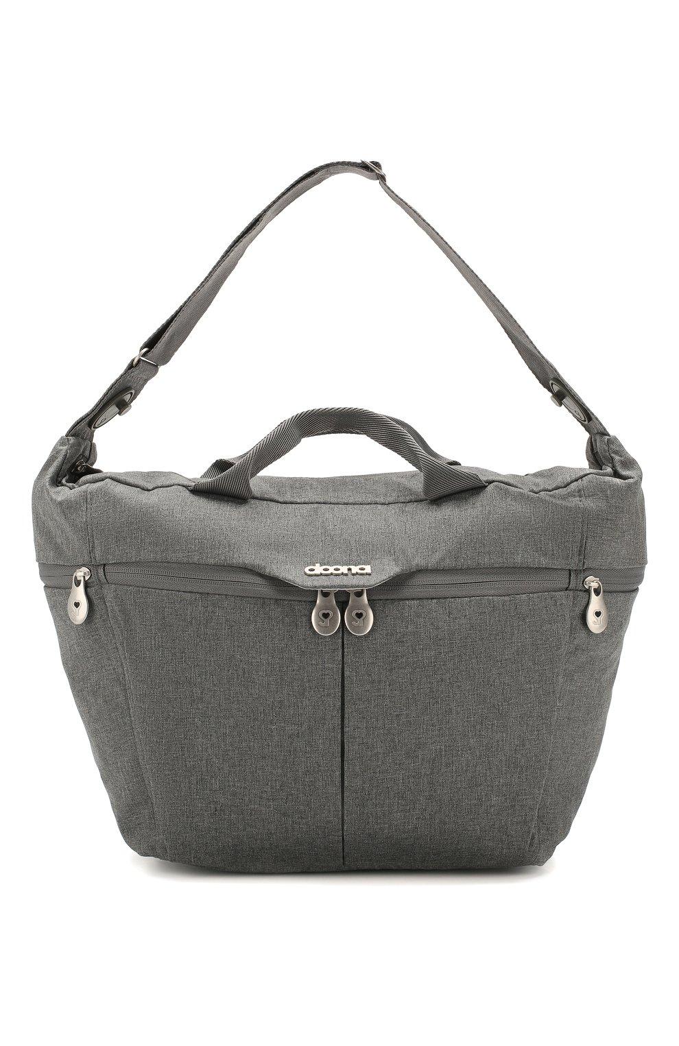 Детская сумка для коляски  doona medium SIMPLE PARENTING серого цвета, арт. SP104-99-006-099   Фото 1 (Статус проверки: Проверена категория)