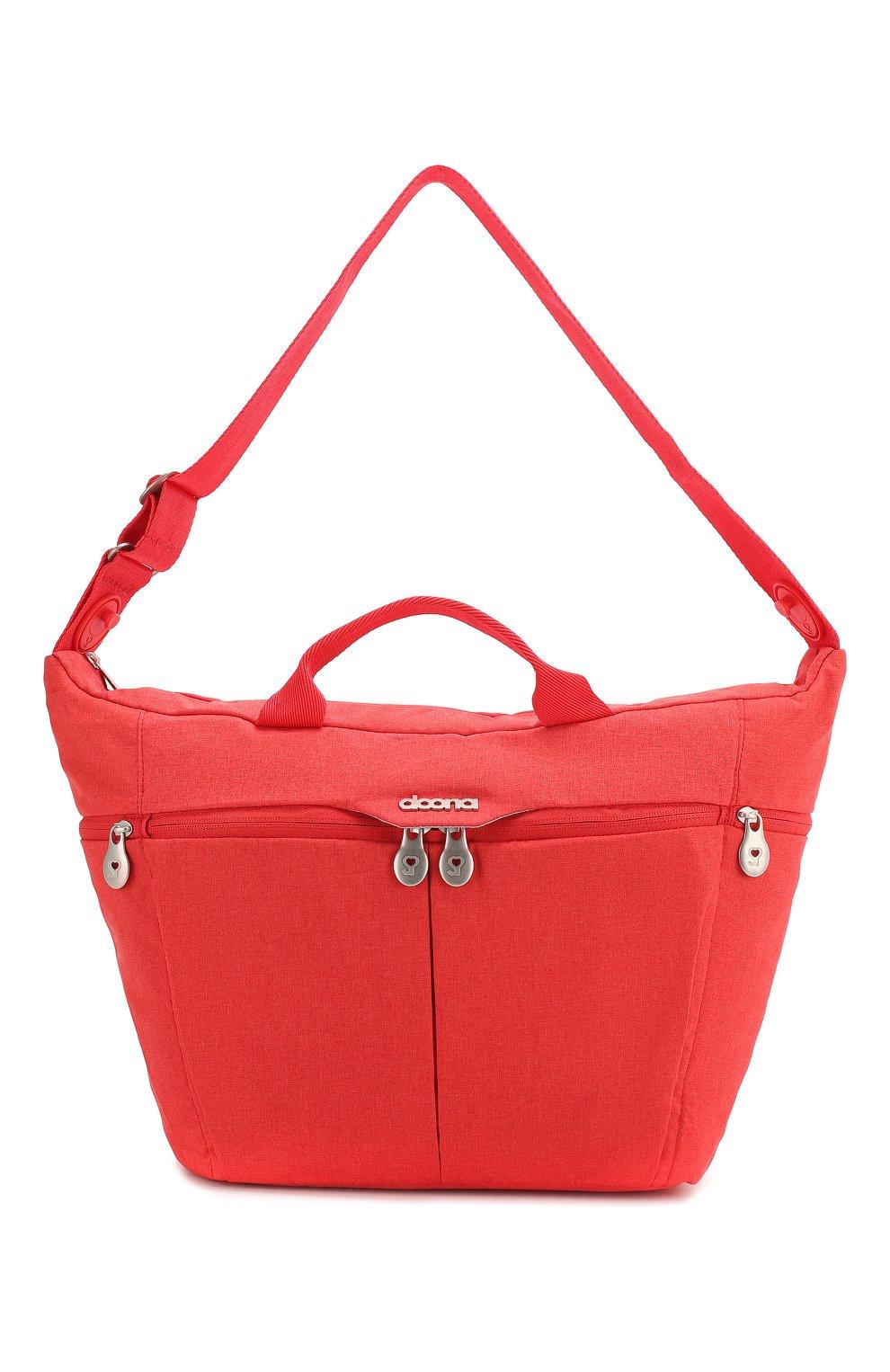 Детская сумка doona medium SIMPLE PARENTING красного цвета, арт. SP104-99-003-099   Фото 1 (Статус проверки: Проверена категория)