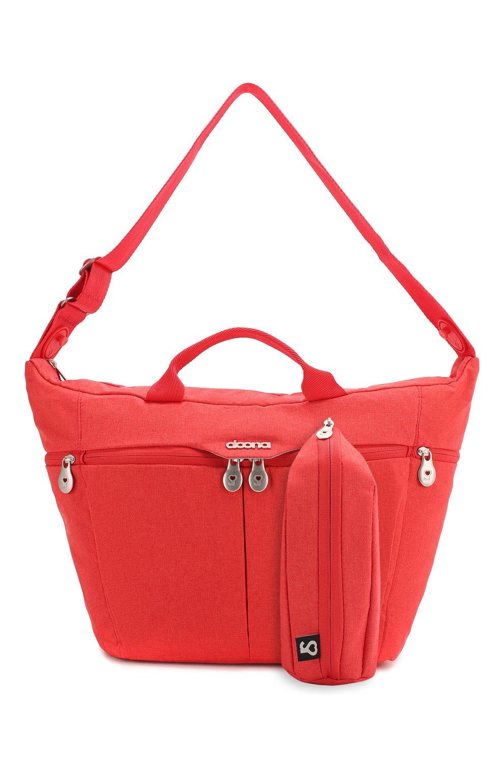Детская сумка doona medium SIMPLE PARENTING красного цвета, арт. SP104-99-003-099   Фото 4 (Статус проверки: Проверена категория)