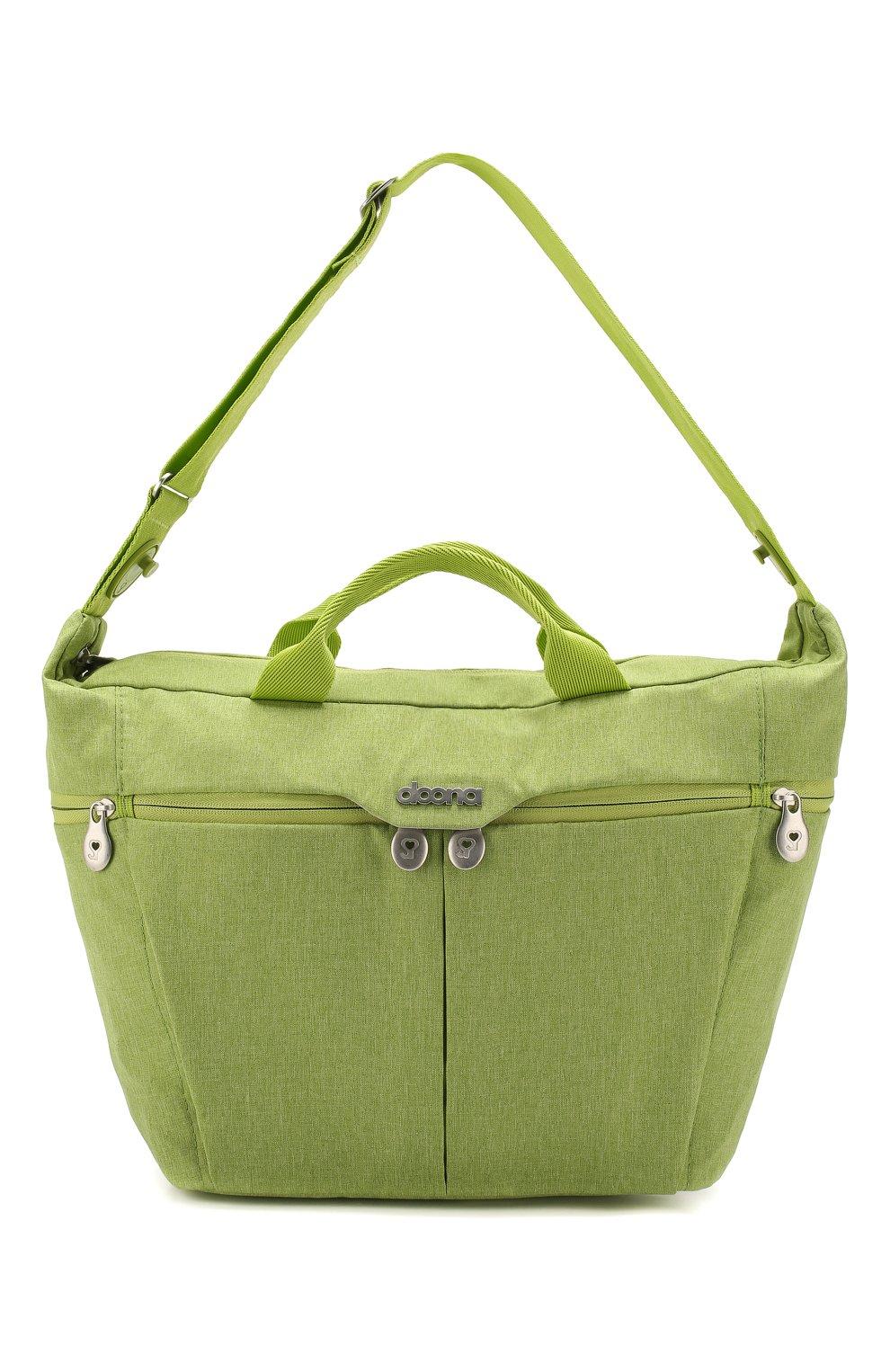 Детская сумка для коляски  doona medium SIMPLE PARENTING зеленого цвета, арт. SP104-99-007-099   Фото 1 (Статус проверки: Проверена категория)