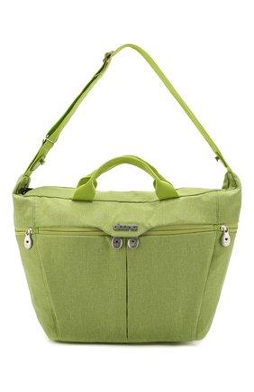 Детская сумка для коляски  doona medium SIMPLE PARENTING зеленого цвета, арт. SP104-99-007-099 | Фото 1