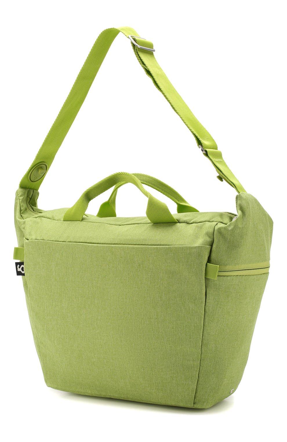 Детская сумка для коляски  doona medium SIMPLE PARENTING зеленого цвета, арт. SP104-99-007-099   Фото 2 (Статус проверки: Проверена категория)