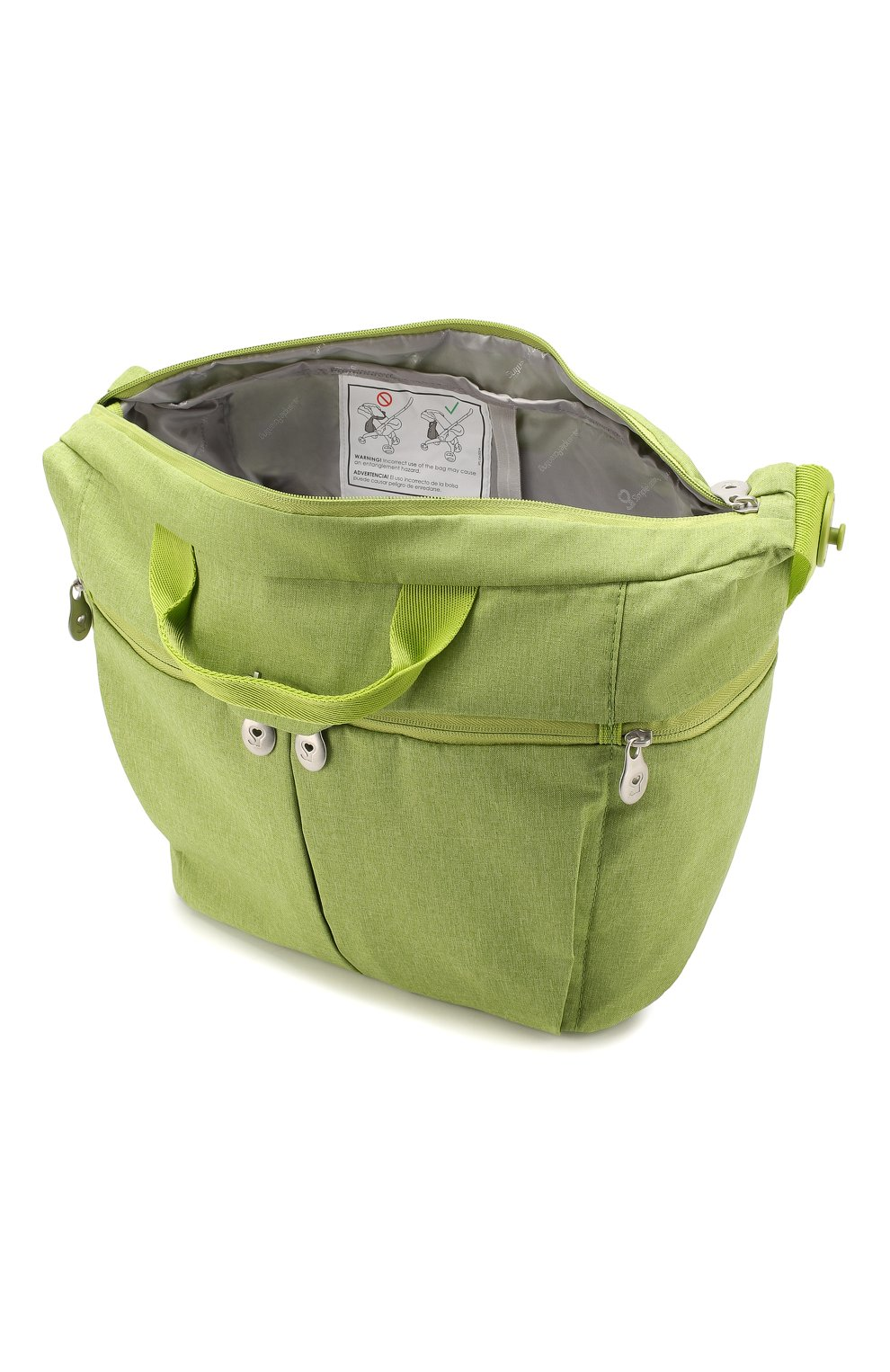 Детская сумка для коляски  doona medium SIMPLE PARENTING зеленого цвета, арт. SP104-99-007-099   Фото 3 (Статус проверки: Проверена категория)