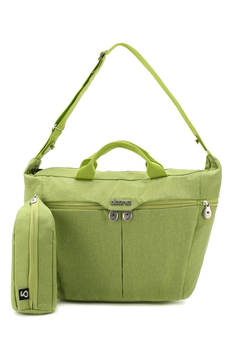 Детская сумка для коляски  doona medium SIMPLE PARENTING зеленого цвета, арт. SP104-99-007-099   Фото 4 (Статус проверки: Проверена категория)
