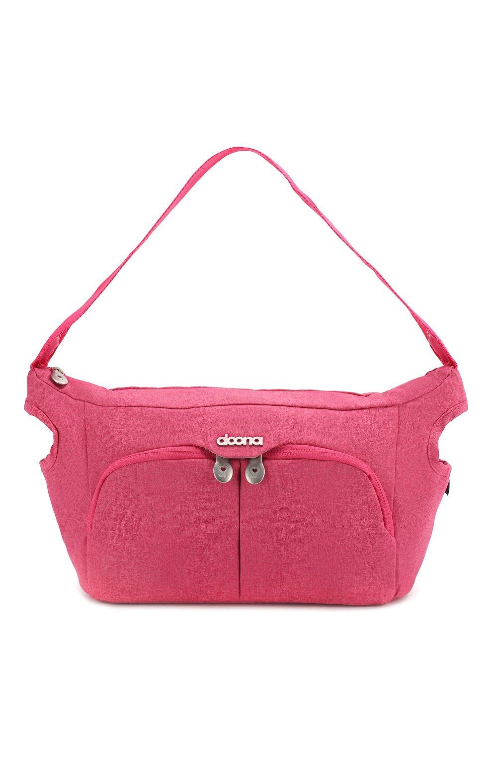 Детская сумка doona small SIMPLE PARENTING розового цвета, арт. SP105-99-004-099 | Фото 1 (Статус проверки: Проверена категория)