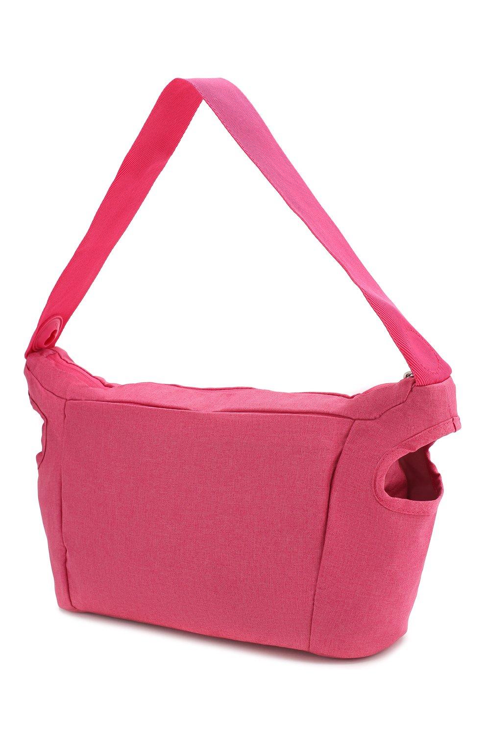 Детская сумка doona small SIMPLE PARENTING розового цвета, арт. SP105-99-004-099 | Фото 2 (Статус проверки: Проверена категория)