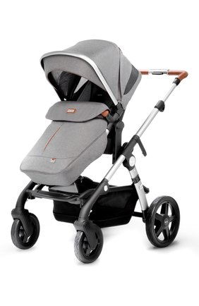 Детская коляска wave 2 в 1 SILVER CROSS серого цвета, арт. SX2074.SBSI1/SX2074.SBSI2 | Фото 1