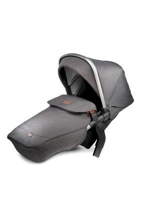 Детская прогулочный блок для 2-го ребенка в коляску wave SILVER CROSS темно-серого цвета, арт. SX2072.GRSI4 | Фото 1