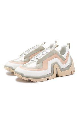 Кожаные кроссовки Vibe | Фото №1