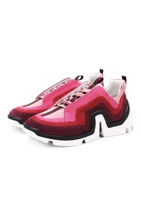 Замшевые кроссовки Vibe | Фото №1