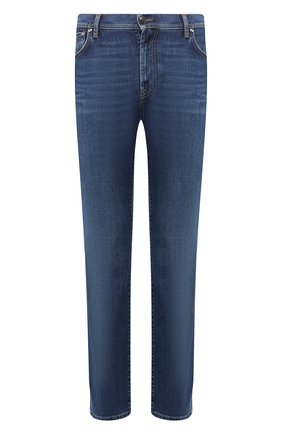 Мужские джинсы прямого кроя CORNELIANI синего цвета, арт. 834JD4-9120156/00 | Фото 1