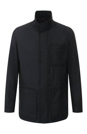 Мужская куртка ZEGNA COUTURE темно-синего цвета, арт. CSC34/5S114 | Фото 1