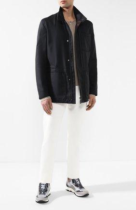 Мужская куртка ZEGNA COUTURE темно-синего цвета, арт. CSC34/5S114 | Фото 2