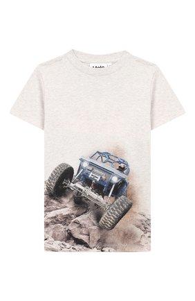Хлопковая футболка Road | Фото №1