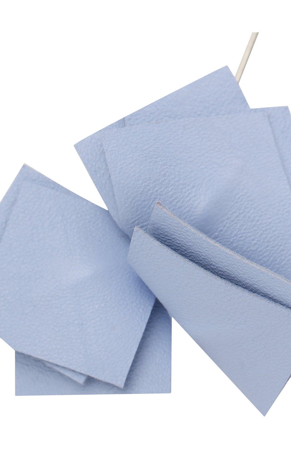 Мужская брошь FLOWER ME голубого цвета, арт. NONME-LT018010S1   Фото 3