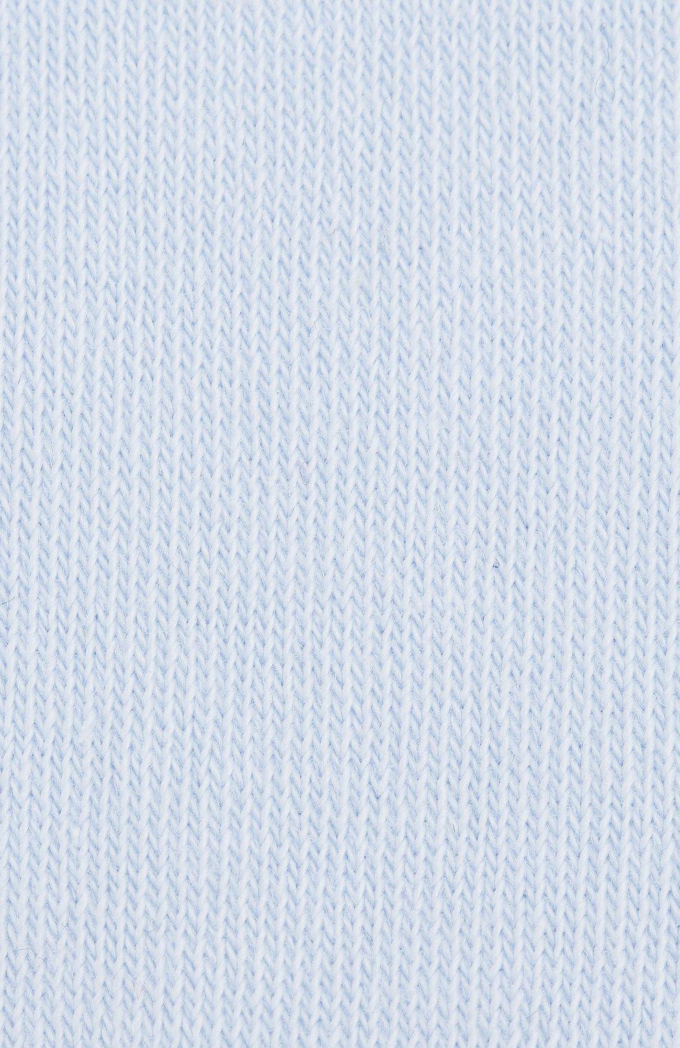 Детские хлопковые колготки FALKE голубого цвета, арт. 13625   Фото 2