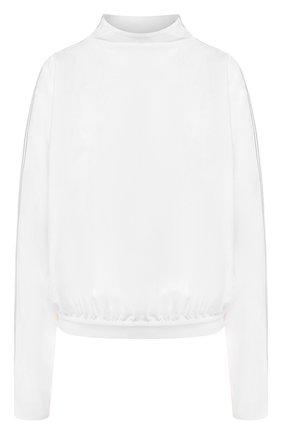 Блузка с воротником-стойкой   Фото №1