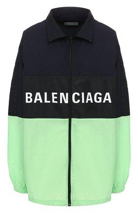 Куртка с логотипом бренда | Фото №1