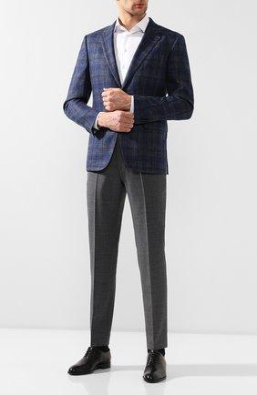 Мужская хлопковая сорочка с воротником кент GIORGIO ARMANI белого цвета, арт. 8WGCCZMR/TZ262 | Фото 2 (Статус проверки: Проверено, Проверена категория; Материал внешний: Хлопок; Длина (для топов): Стандартные; Мужское Кросс-КТ: Сорочка-одежда; Рукава: Длинные; Случай: Формальный; Принт: Однотонные; Манжеты: На пуговицах; Воротник: Кент)
